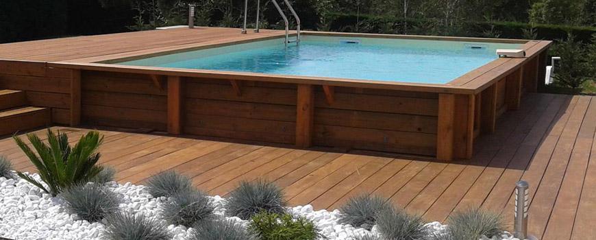 Piscines wood line toul 54 piscine en bois haut de gamme - Piscine bois haut de gamme ...